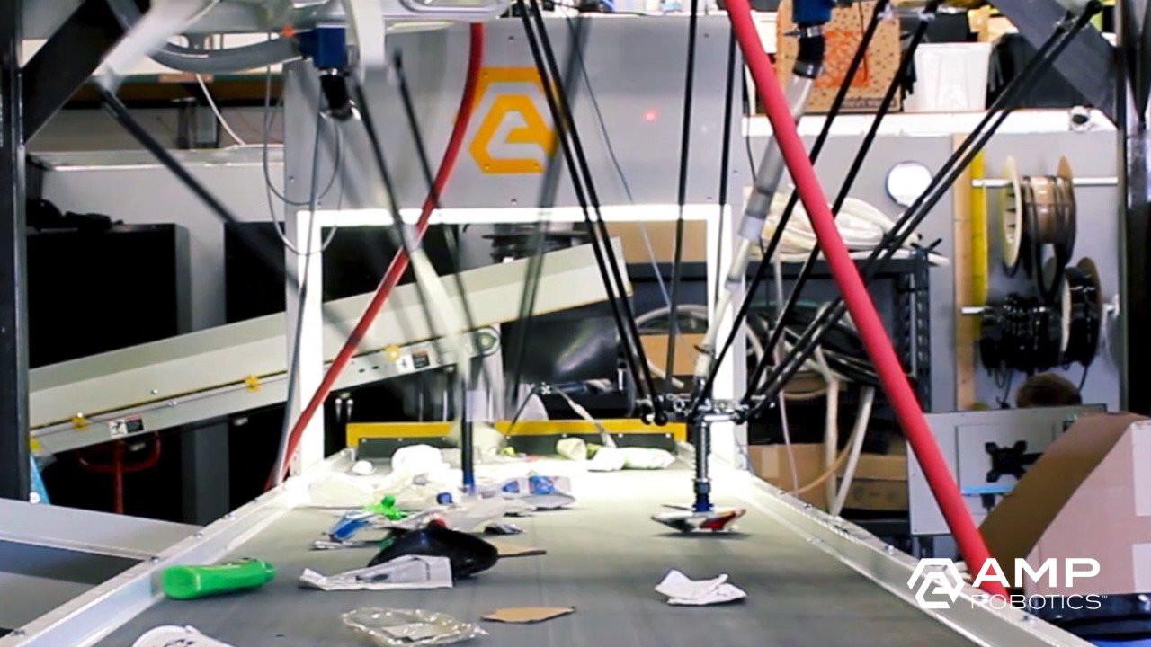 Geri dönüşüm odaklı robotlar geliştiren AMP Robotics, 70 milyon dolarlık yatırım turunda