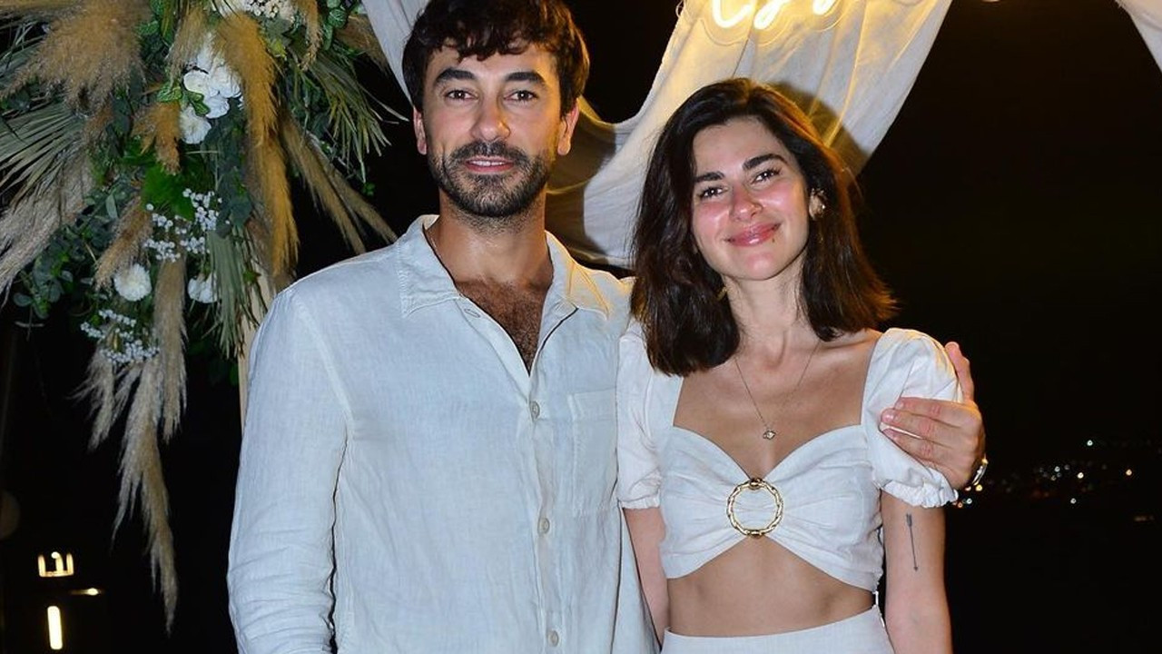 Gökhan Alkan'dan Nesrin Cavadzade'ye evlilik teklifi