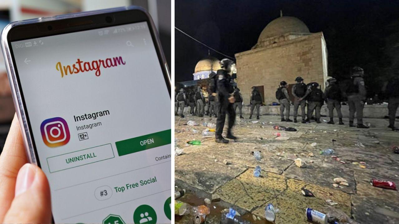 Instagram, Kudüs'ten canlı yayınları engelliyor Kudüs'te olan biteni sosyal medyadan canlı bir şekilde aktarmak isteyenler bir sıkıntıyla karşılaşıyor...