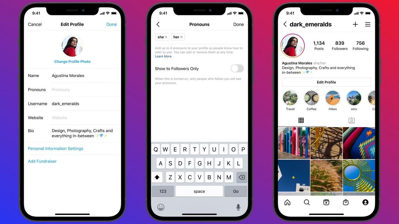 Instagram yeni zamir özelliğini kullanıma sundu Sosyal medya uygulaması Instagram, yeni özelliği ile kullanıcıların profillerine özel bir zamir belirtme...