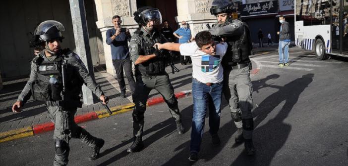İsrail Polisinden Kudüs'te Mevlid-İ Nebi Kutlamalarına Müdahale