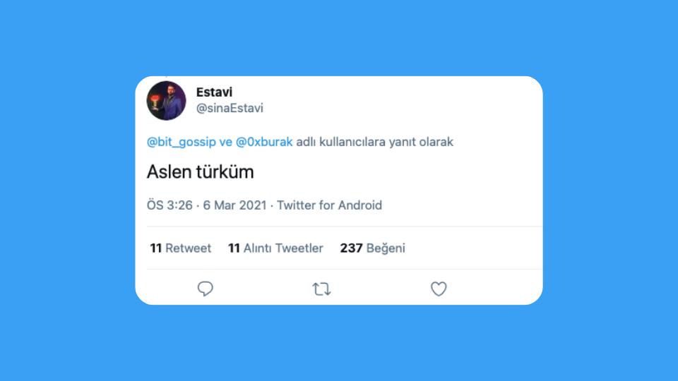 Jack Dorsey'nin ilk tweeti için 2.5 milyon dolar teklif veren Estavi'nin Türk asıllı olduğu ortaya çıktı