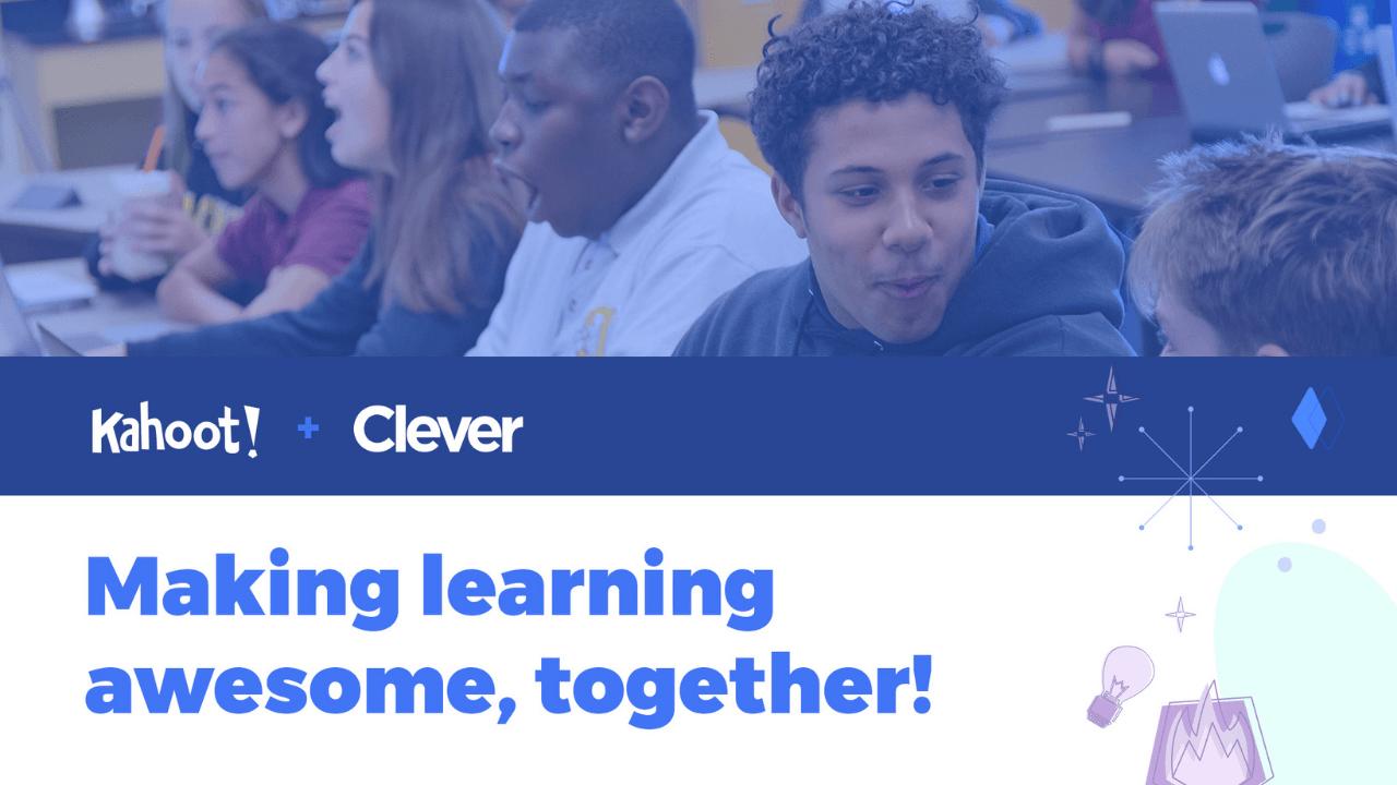Kahoot, eğitim teknolojisi girişimi Clever'ı yaklaşık 500 milyon dolara satın aldı
