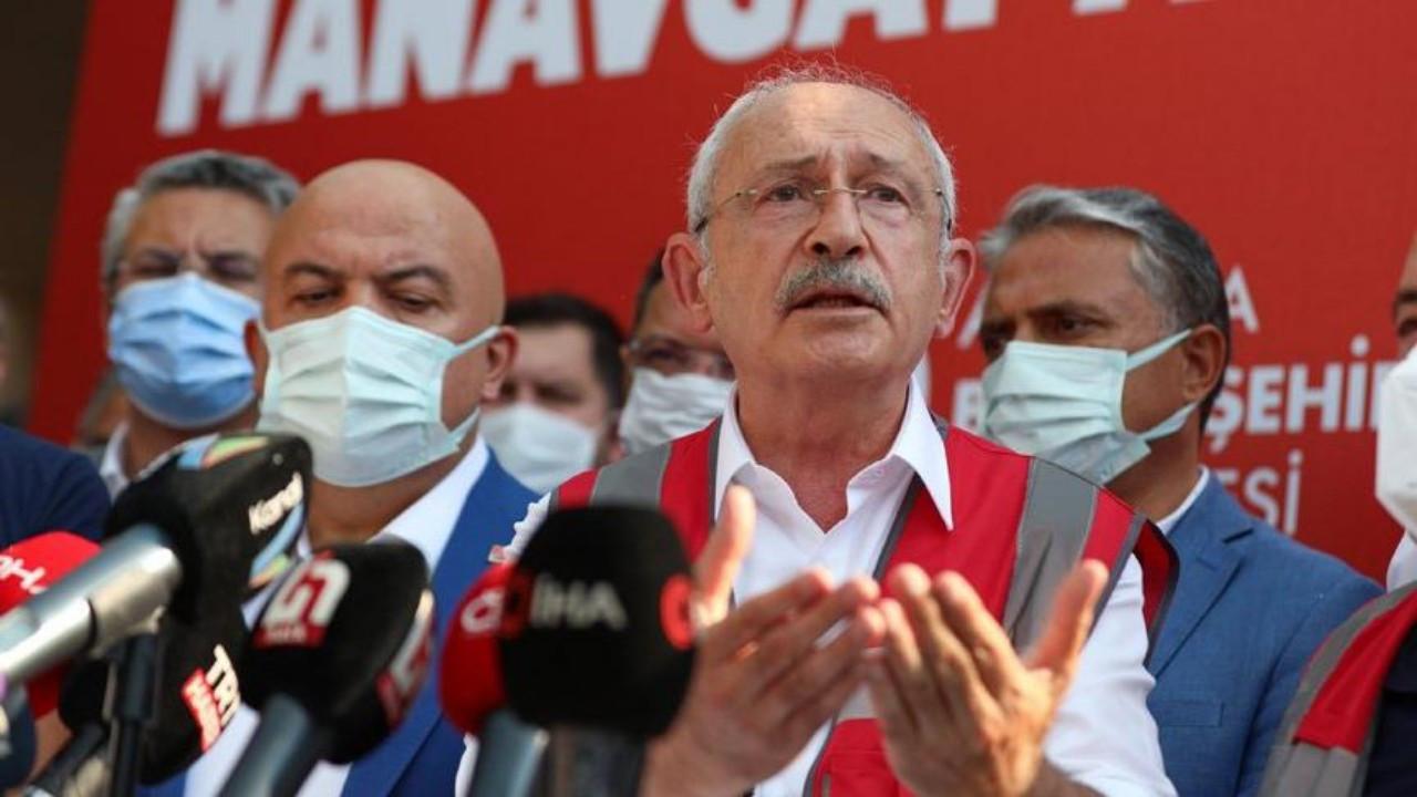 Kemal Kılıçdaroğlu, yangın bölgesinden Cumhurbaşkanı Erdoğan'a seslendi