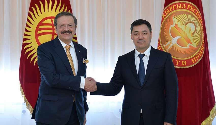 Kırgızistan'dan Türk iş insanlarına yatırım daveti