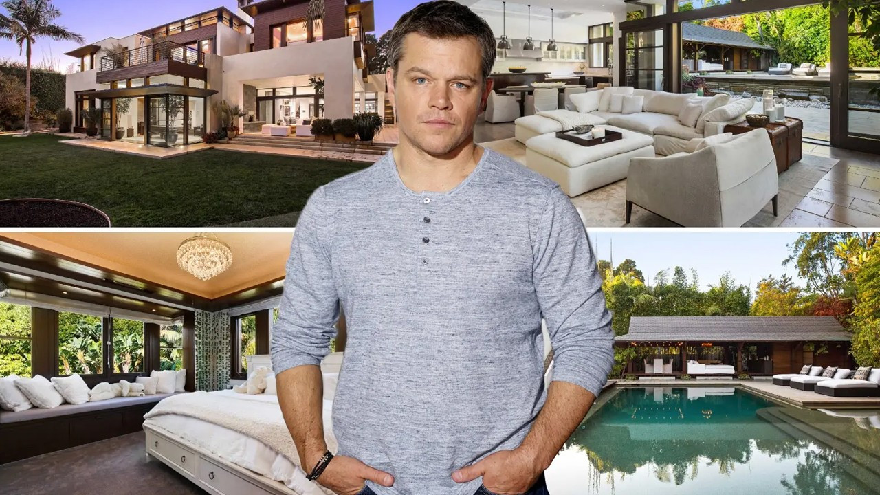Matt Damon süper lüks malikanesini satıyor!