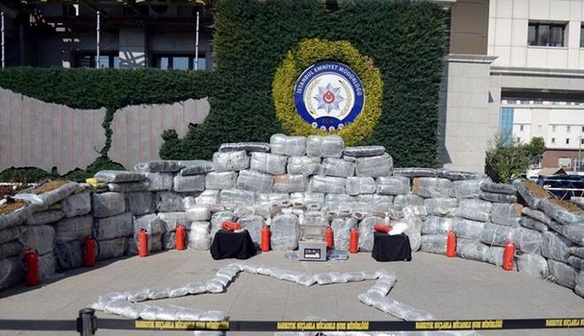 Mersin'de 1 haftada ele geçirilen kokain miktarı 1.7 tonu geçti
