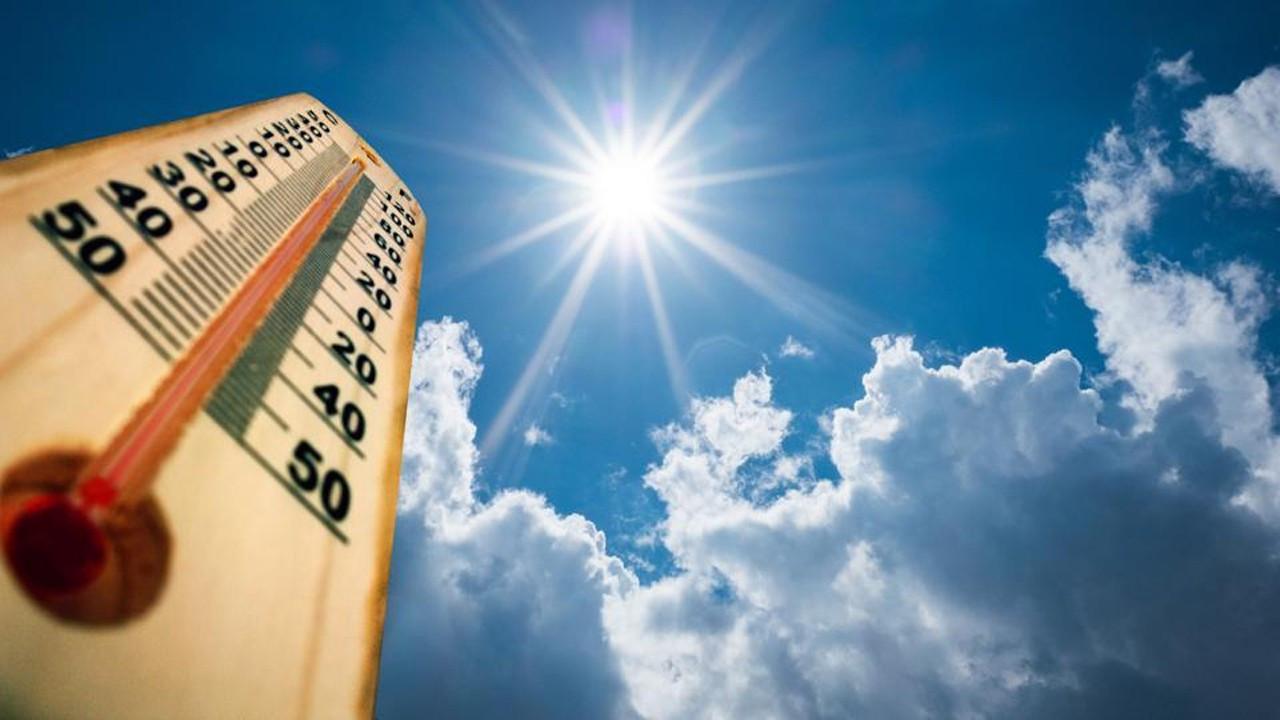 Meteoroloji haritayla uyardı: Aşırı sıcaklara dikkat!