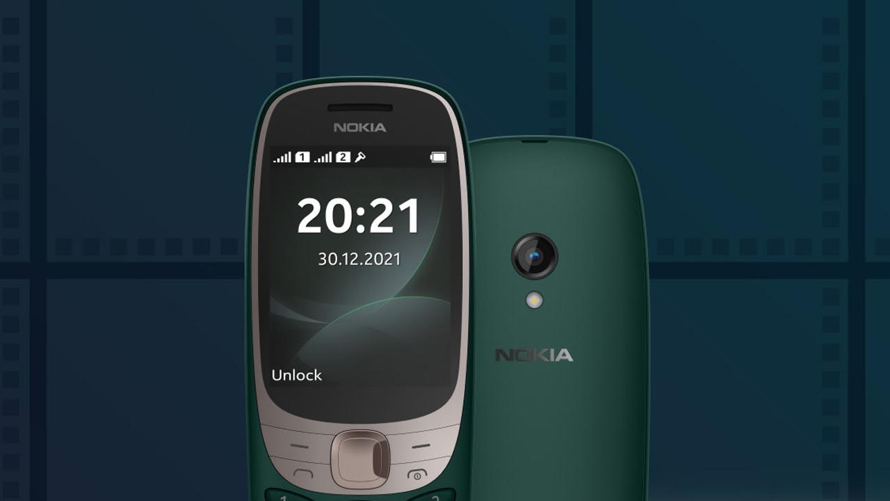 Nokia 6310 yenilenmiş olarak geri döndü
