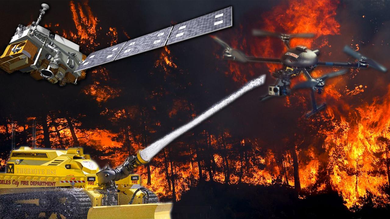 Orman yangınları ile mücadelede kullanılan 5 teknoloji