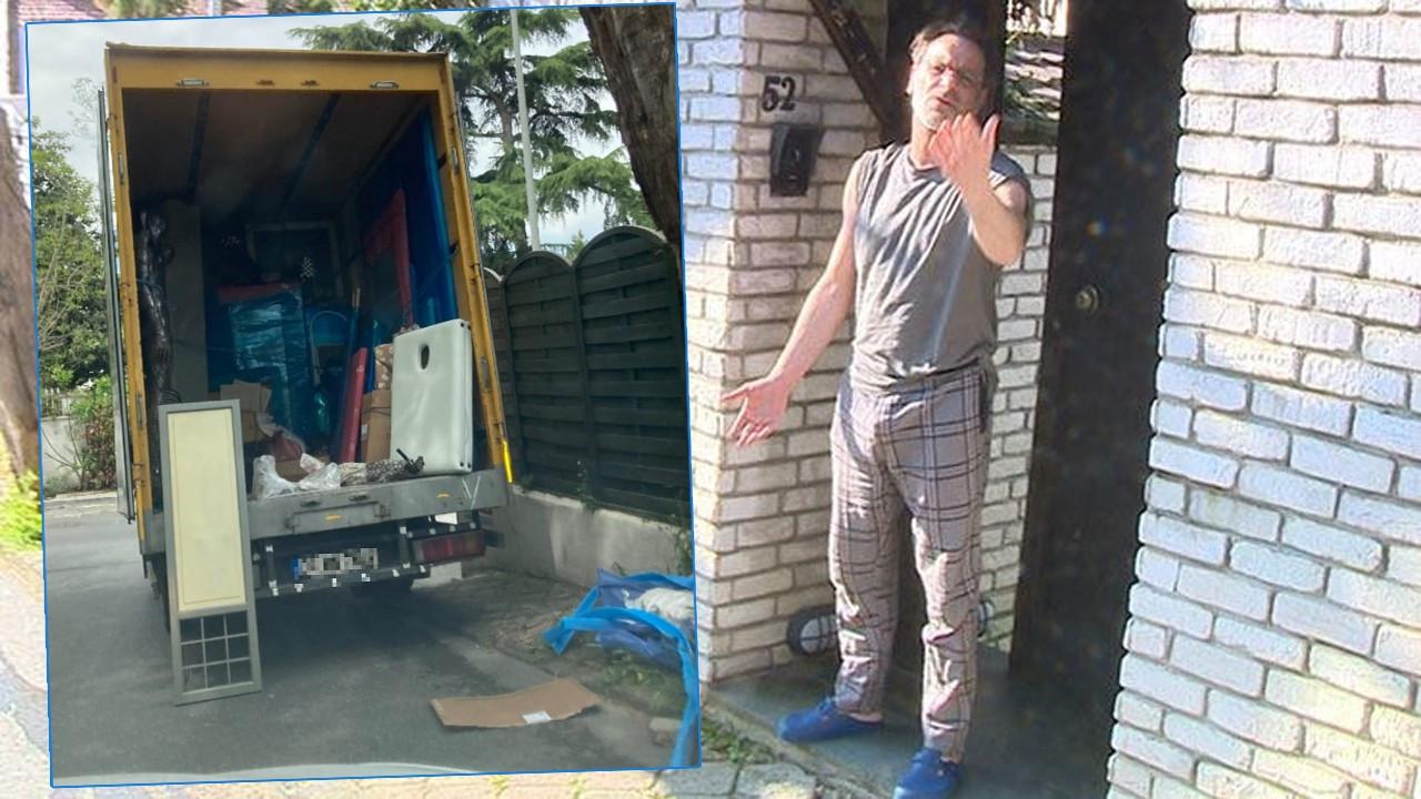 Ozan Güven'in İstanbul'daki eşyaları kamyona yüklendi