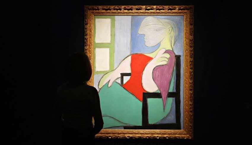 'Pencerenin yanında oturan kadın' 875 Milyona satıldı!
