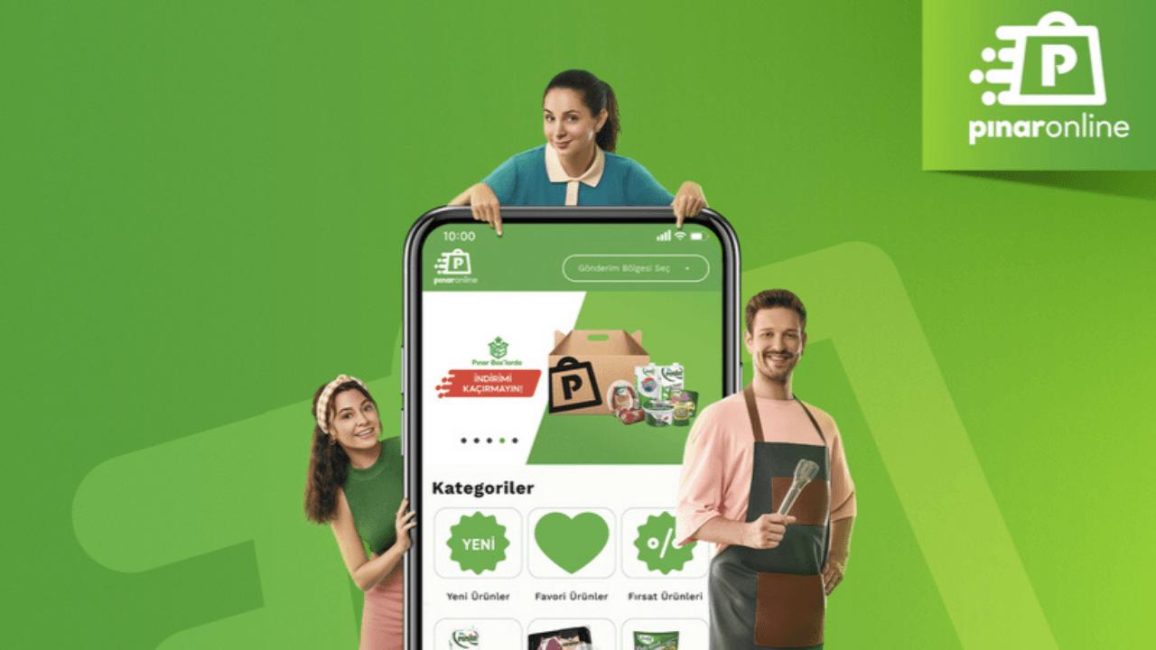 Pınar markasından yeni e-ticaret platformu: PınarOnline