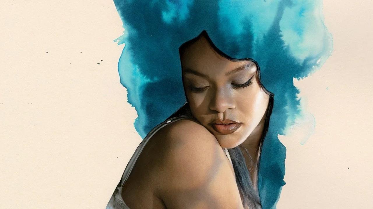 Rihanna'nın 'artistik' pozuna beğeni yağdı