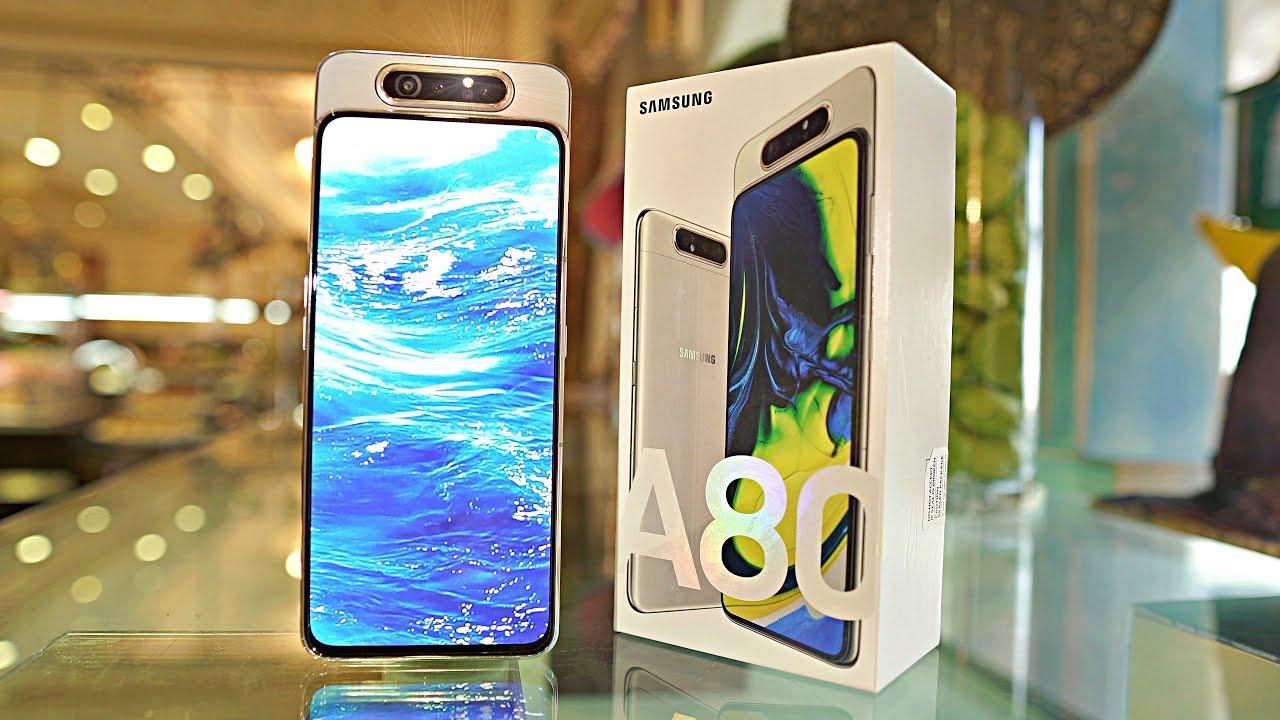 Samsung, Galaxy A80 için yeni bir güncelleme yayınladı