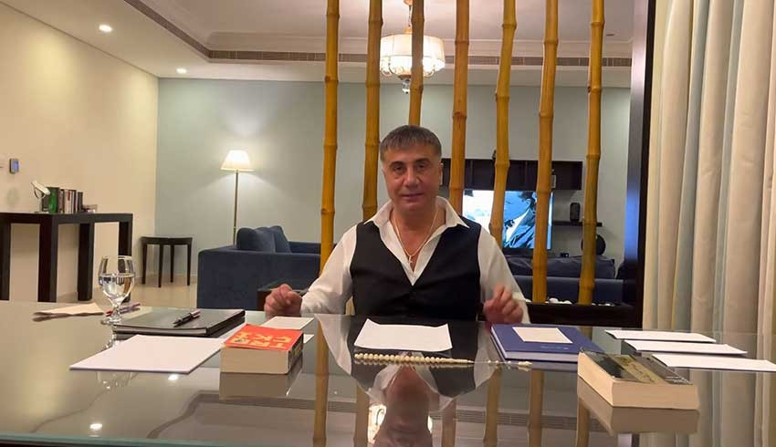 Sedat Peker, Türkiye'den resmi yollarla, pasaportunu kullanarak çıkmış!