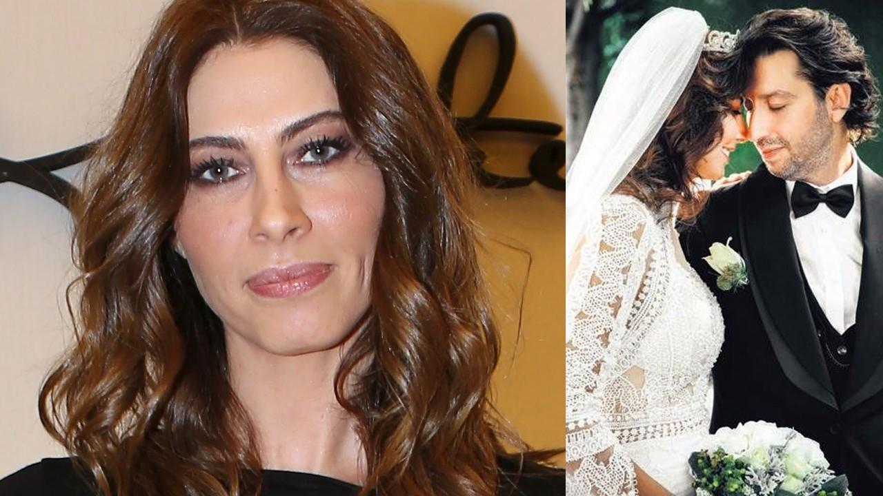 Şenay Akay nikah masasına oturdu