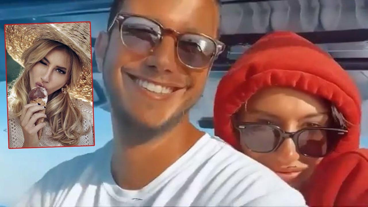 Şeyma Subaşı'nın yeni sevgilisi Mohammed'le deniz keyfi