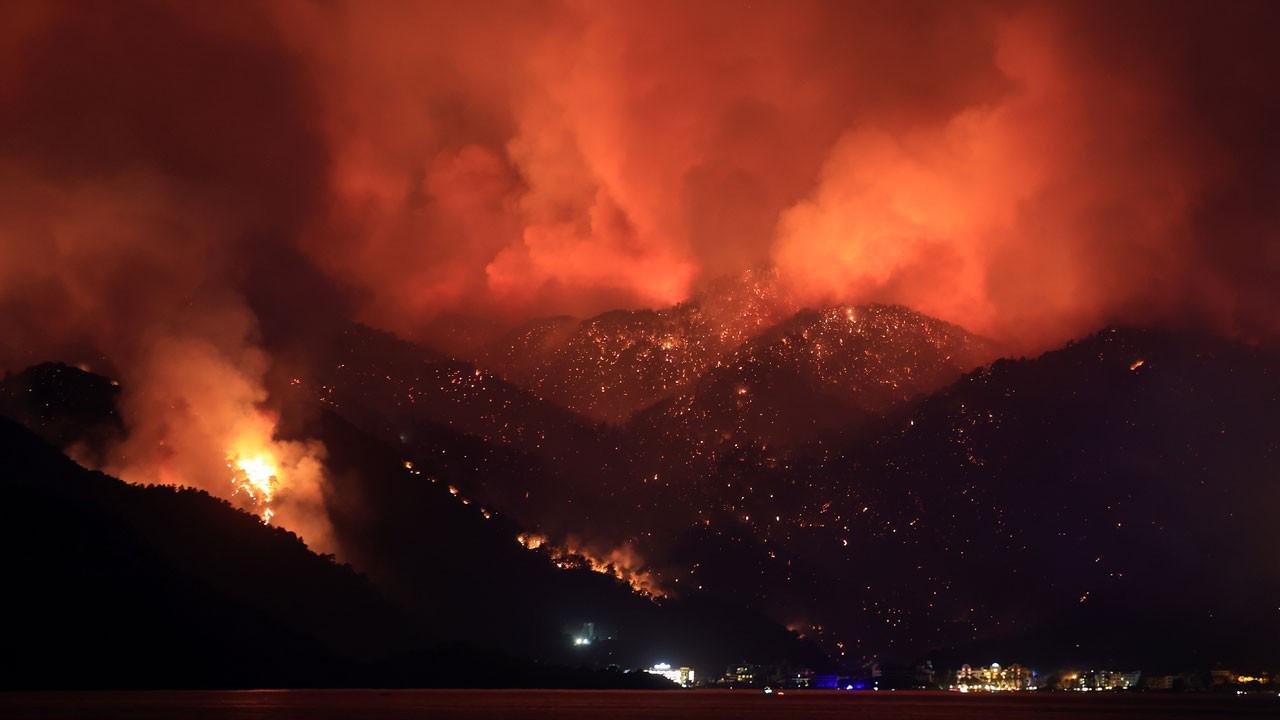 Sosyal medyadaki orman yangını görüntüleri için EGM'den açıklama