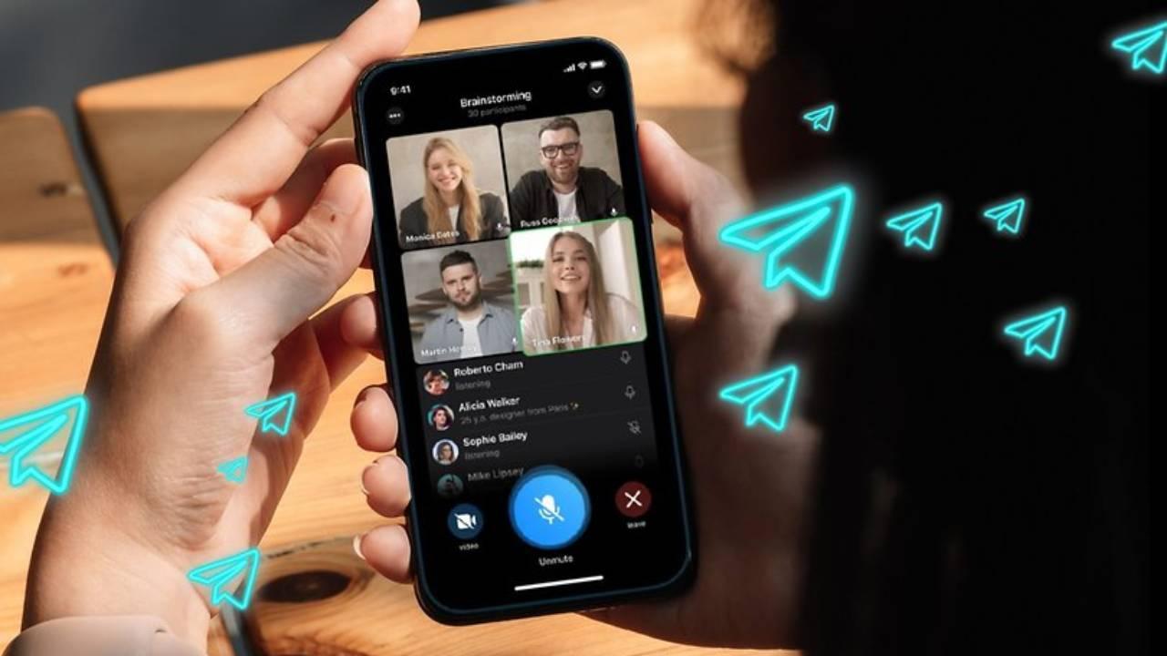 Telegram'dan Instagram canlı yayına alternatif özellik!
