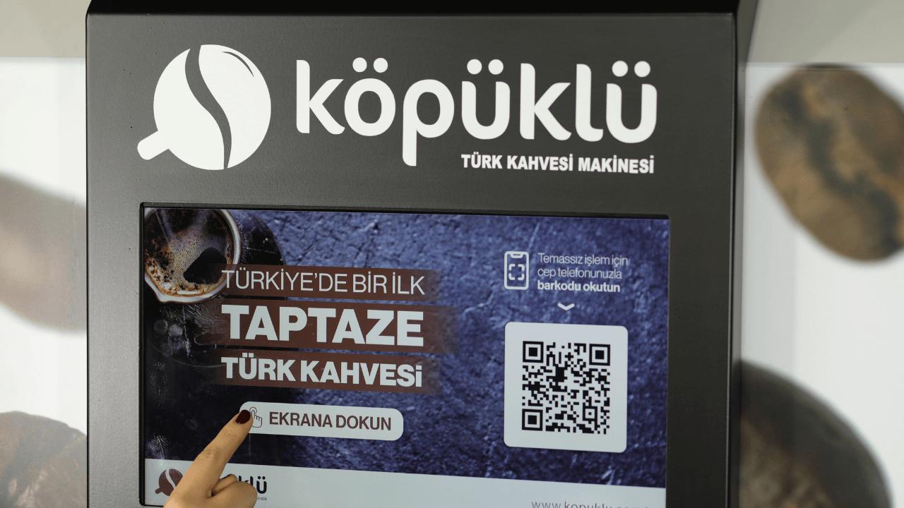 Türk kahvesini teknoloji ile buluşturan girişim: Köpüklü