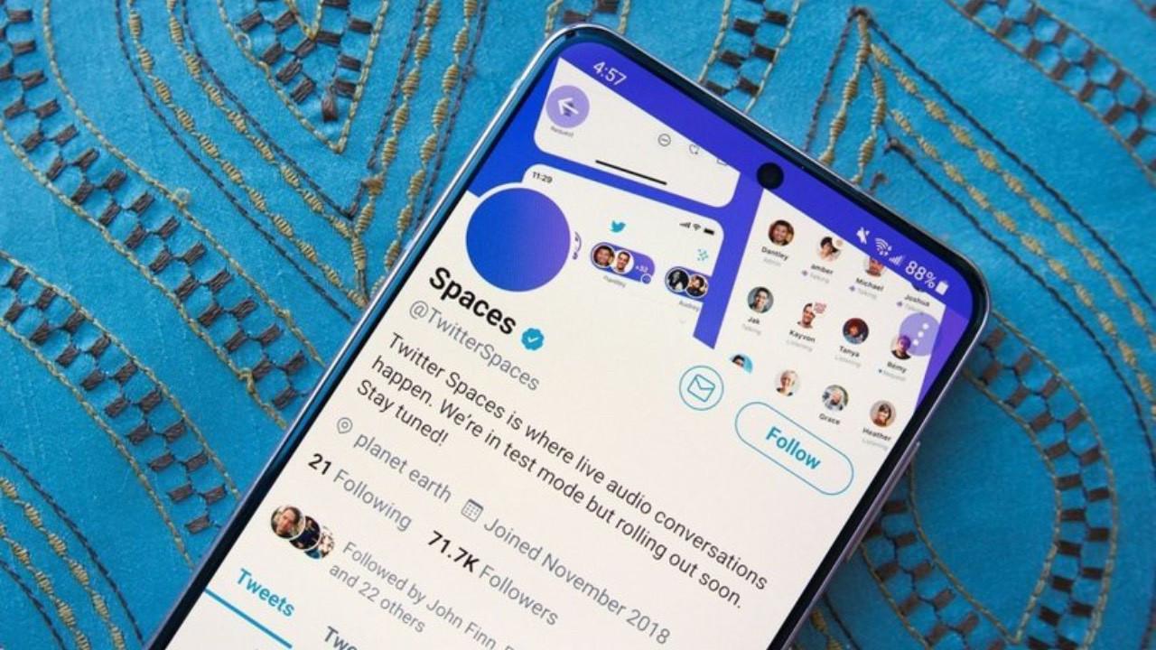 Twitter Spaces güncellendi! İşte yenilikler