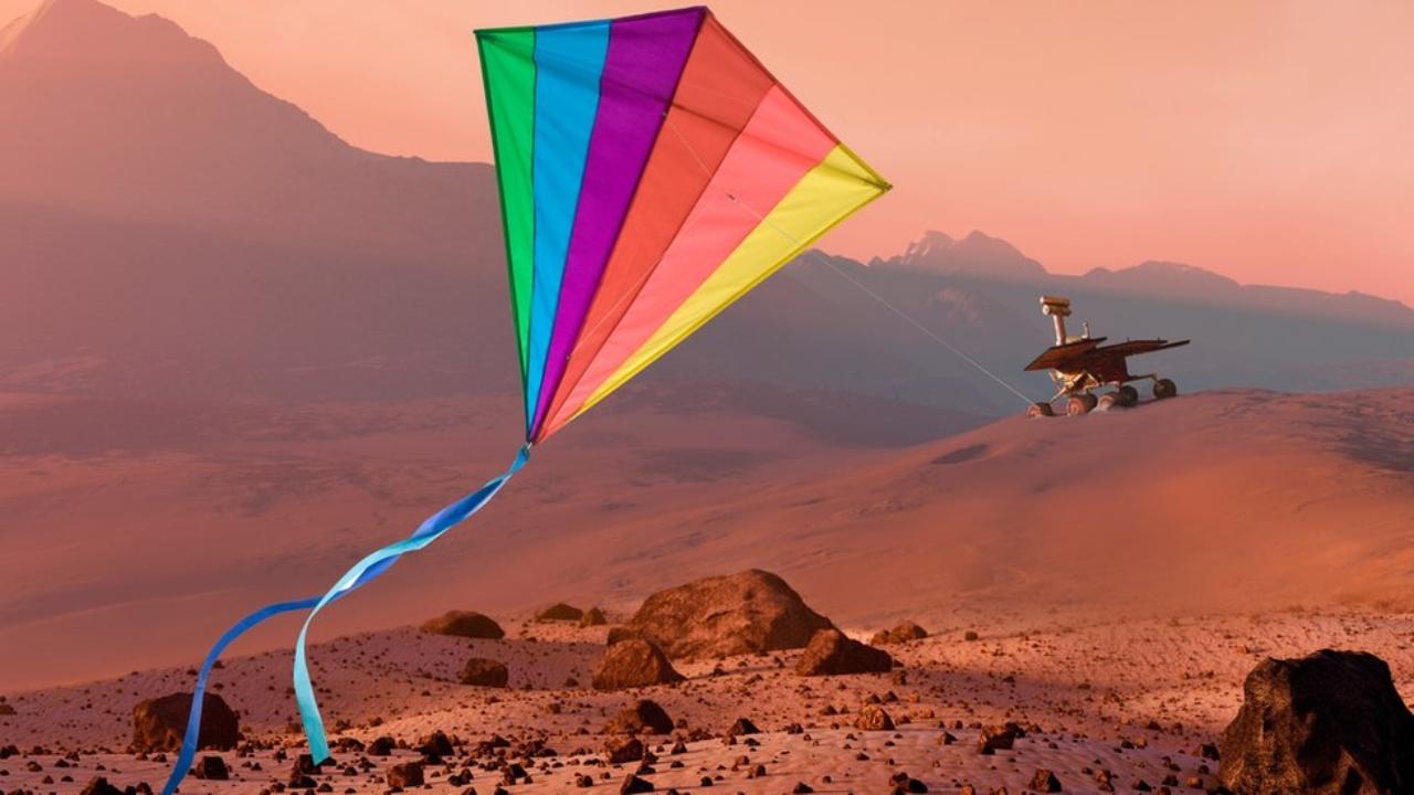 Uçurtmalar Mars görevlerine enerji sağlayacak Delft Teknoloji Üniversitesinden bir grup araştırmacı Mars görevlerinde kullanmak için uçurtma tasarlıyor...