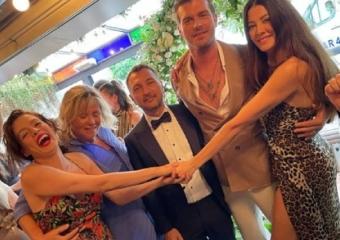 Uluç Bayraktar ile Alara Hamamcıoğlu'nun nikahına ünlüler akın etti