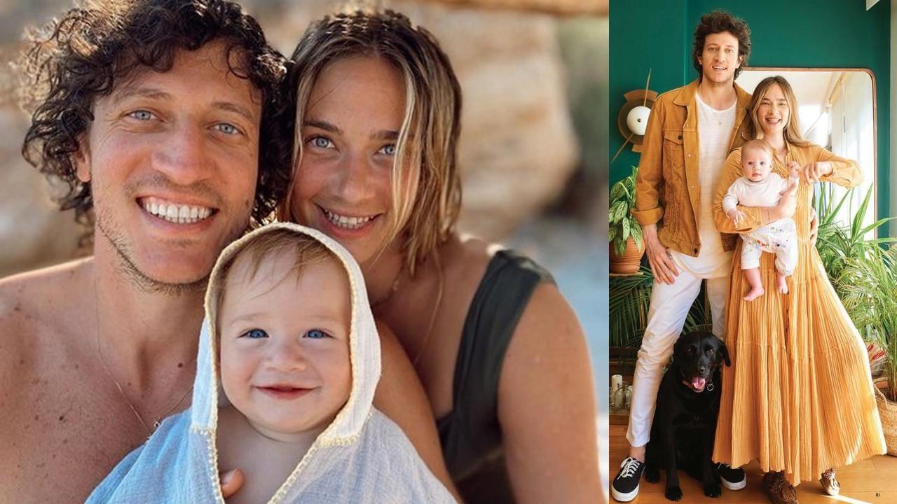 Ünlü çiftin sevimli Vina'sı 1 yaşına bastı