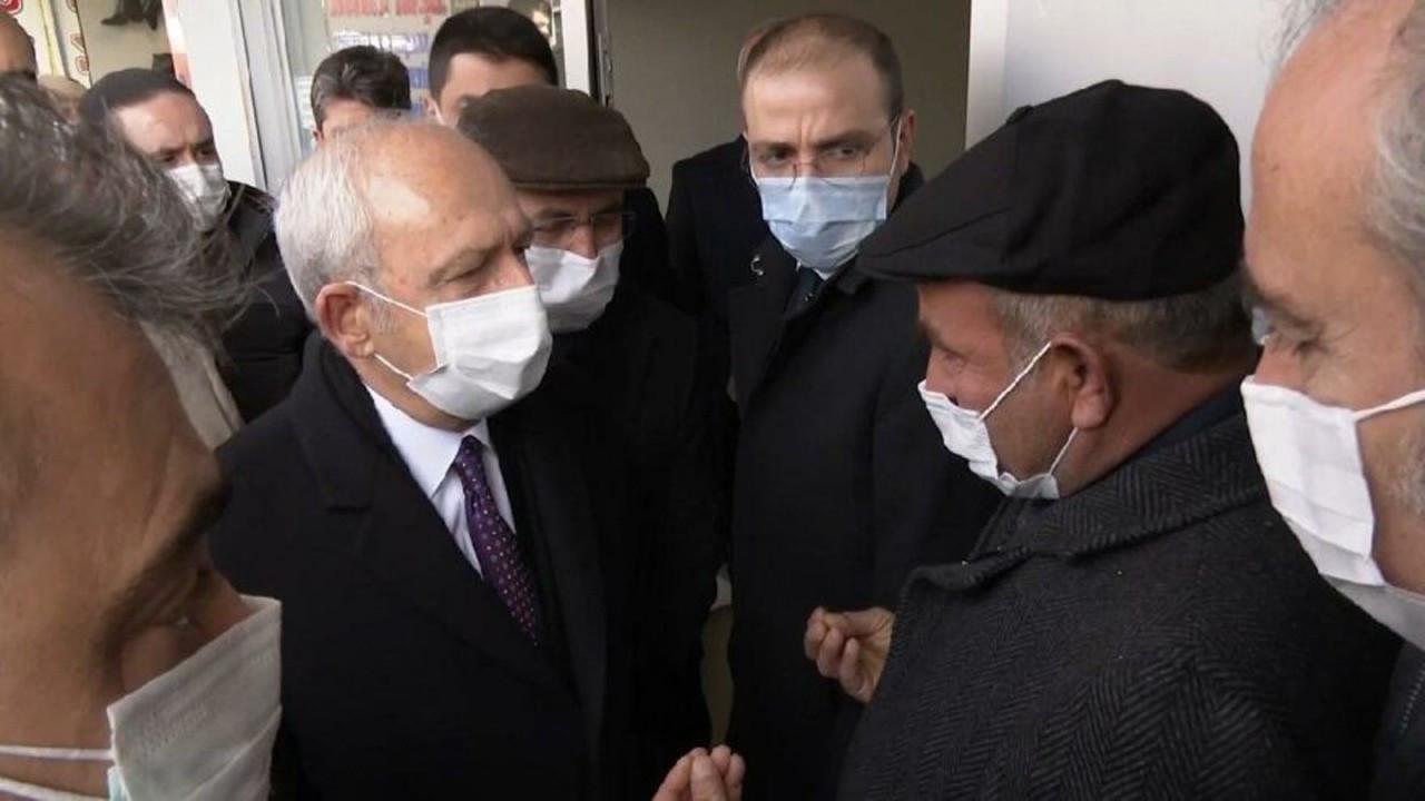 Vatandaş Kemal Kılıçdaroğlu'na dert yandı