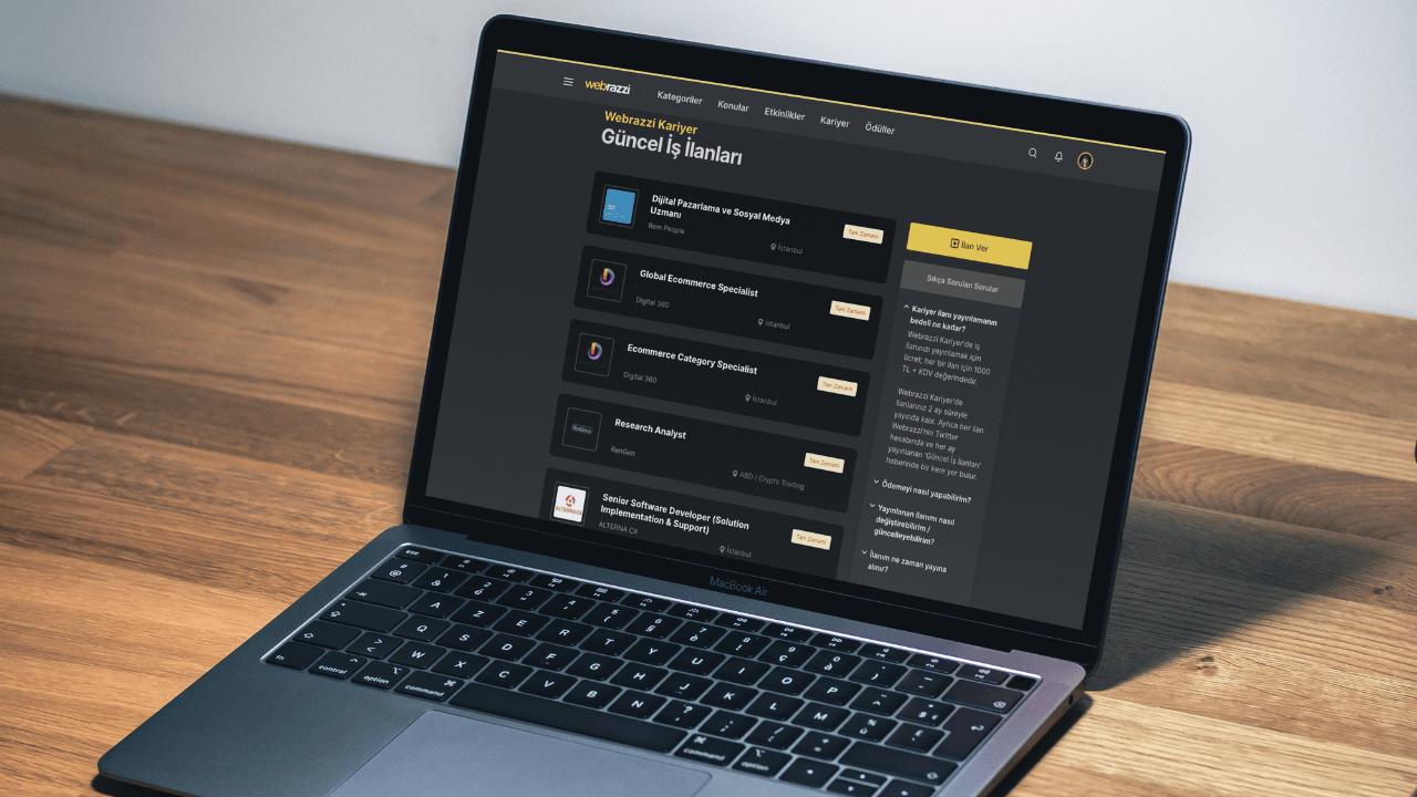 Webrazzi Kariyer'deki güncel iş ilanları - Haziran 2021