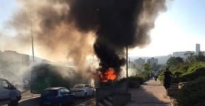 Kudüs'te yolcu otobüsünde patlama meydana geldi!!