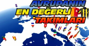 Avrupa'nın en değerlileri listesinde Fenerbahçe 22. Galatasaray 24. oldu