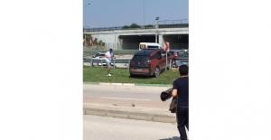 Bursaspor'lu Sercan Yıldırım trafik kazası yaptı