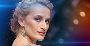 Didem Soydan, Cannes'ta leopar desenli kıyafeti ile boy gösterdi