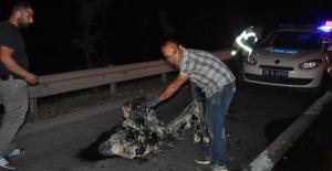 Emniyet şeridinde kaza: 1 ölü, 1 yaralı