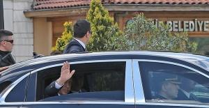 Erdoğan'a Eyüp'te Numan Kurtulmuş eşlik etti