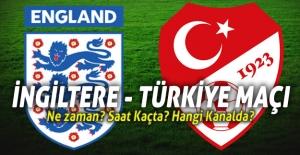 İngiltere ile Türkiye A Milli Futbol Takımı Pazar Günü Karşılaşacak