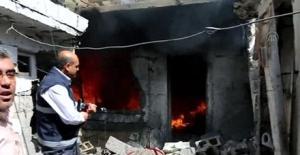 Kilis'e 2 roket mermisi düştü, 1 kişi hayatını kaybetti