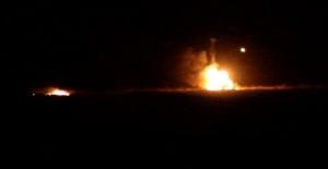 Kilis sınırında tankta patlama!