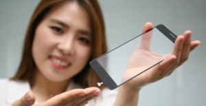 LG Ekranın Altına Parmak İzi Okuyucu Yerleştirdi