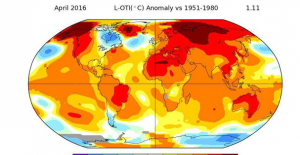 """NASA: """"Tarihin en sıcak Nisan ayını geride bıraktık"""""""