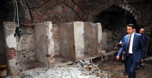 'Sık dişini helası'nda restorasyon çalışmaları başladı