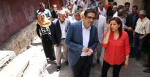 Sur'da HDP'li vekillere büyük tepki!