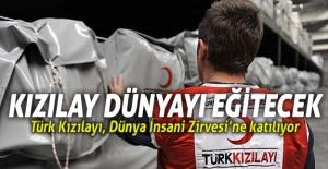 Türk Kızılayı, Dünya İnsani Zirvesi'ne katılıyor