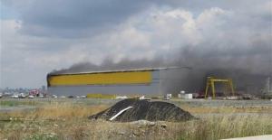 Tuzla tershaneler bölgesinde patlama