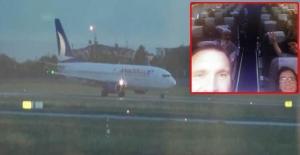 24 inatçı yolcunun zaferi! Uçağı tekrar kaldırttılar