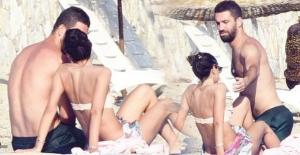 Arda Turan EURO 2016'yı çabuk unuttu! Sevgilisi Aslıhan ile tatile çıktı
