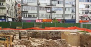 Beşiktaş metrosu kazısında tarihi eserler çıktı