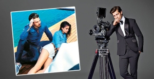 Çağatay Ulusoy yeni sevgilisi ile Los Angeles'ta buluştu